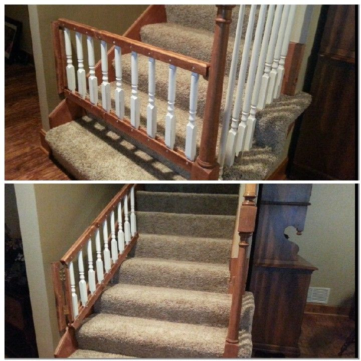 Best ideas about Dog Gate For Stairs . Save or Pin Babby gate Dog gate that can be opened UP the stairs Now.