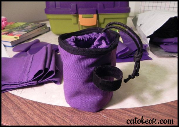 Best ideas about Dog Treat Pouch DIY . Save or Pin This is the how to description for how I made dog bait Now.