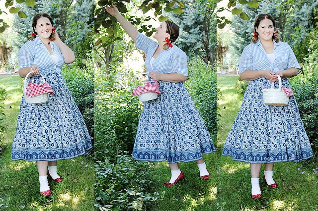 Best ideas about Dorothy Costume DIY . Save or Pin DIY No Sew Dorothy Inspired Costume Now.