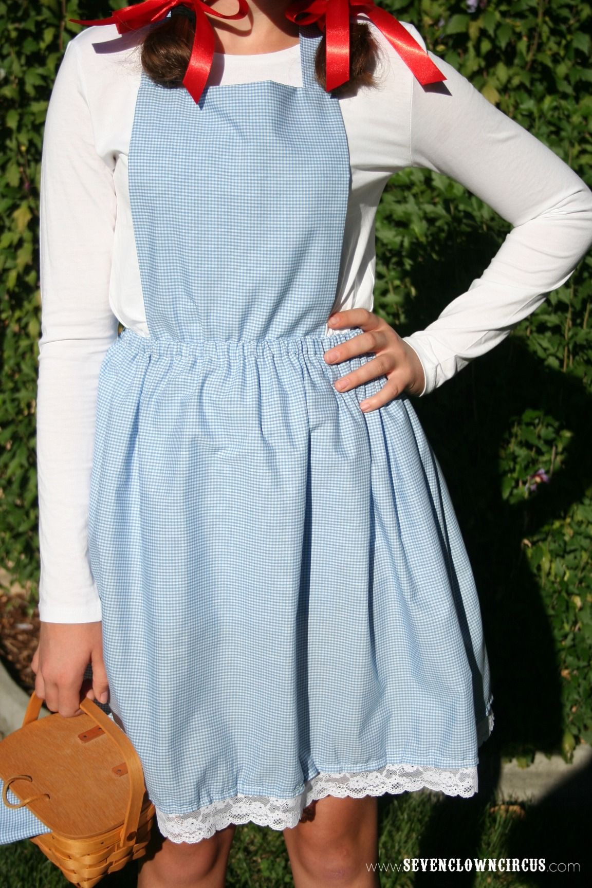 Best ideas about Dorothy Costume DIY . Save or Pin Easy Homemade Dorothy Costume holidaze Now.