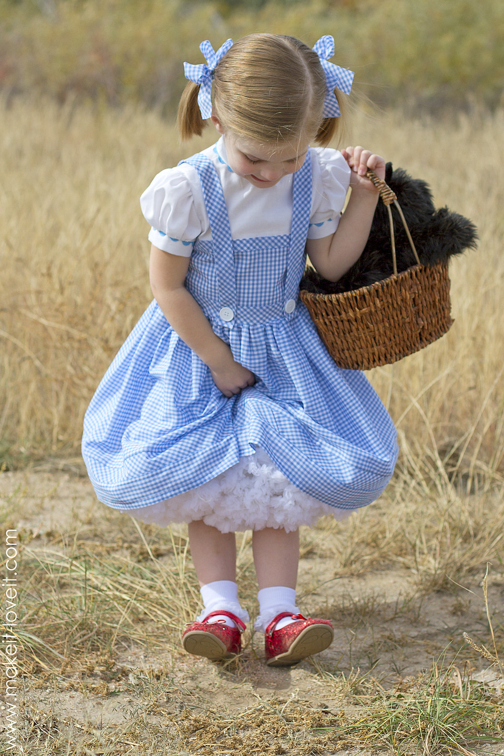 """Best ideas about Dorothy Costume DIY . Save or Pin Halloween 2014 Dorothy from """"Wizard of Oz"""" Now."""