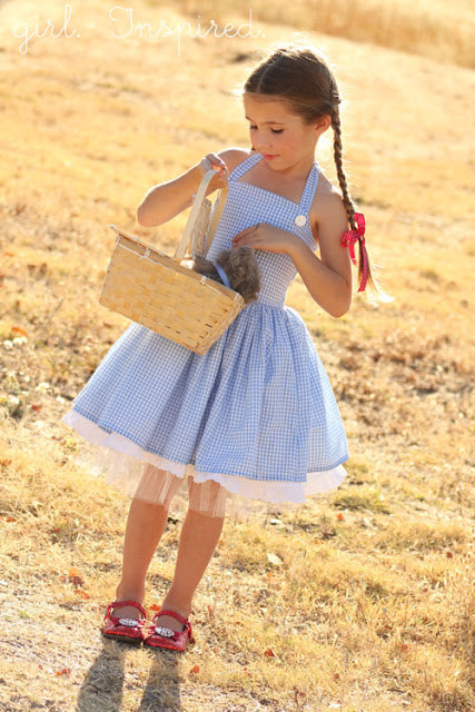 Best ideas about Dorothy Costume DIY . Save or Pin DIY Dorothy Costume Tutorial Andrea s Notebook Now.