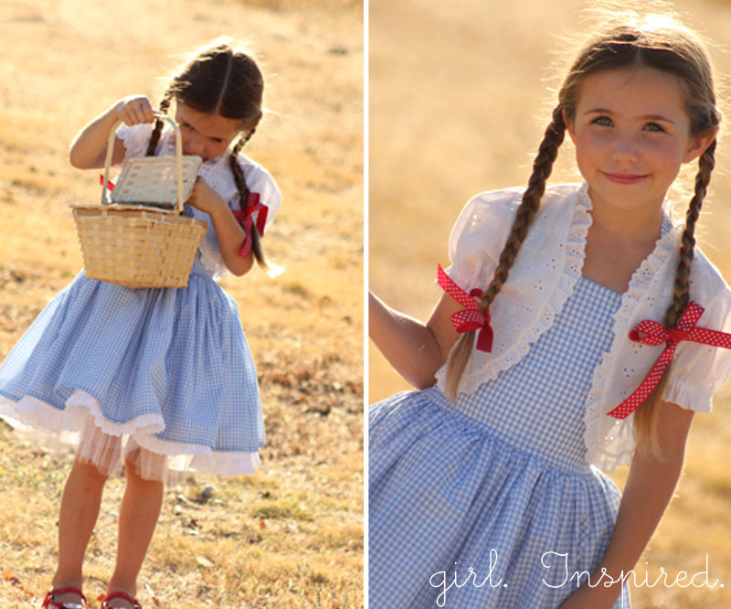 Best ideas about Dorothy Costume DIY . Save or Pin Dorothy Dress Tutorial girl Inspired Now.