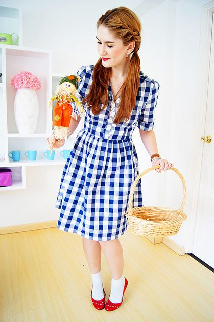 Best ideas about Dorothy Costume DIY . Save or Pin 1000 ideas about Dorothy Halloween Costume on Pinterest Now.
