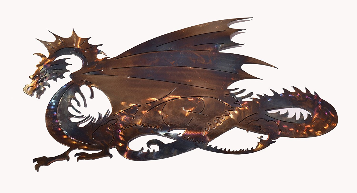 "Best ideas about Dragon Wall Art . Save or Pin ""Dragon"" Metal Art – Iron Mountain Studios Now."