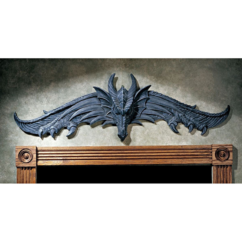 Best ideas about Dragon Wall Art . Save or Pin Design Toscano The Hardwick Dragon Wall Décor Now.