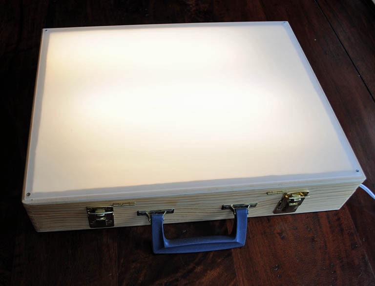 Best ideas about Drawing Light Box DIY . Save or Pin Tom Sarmo The Cranky Bird Studio Quick and Easy DIY Now.