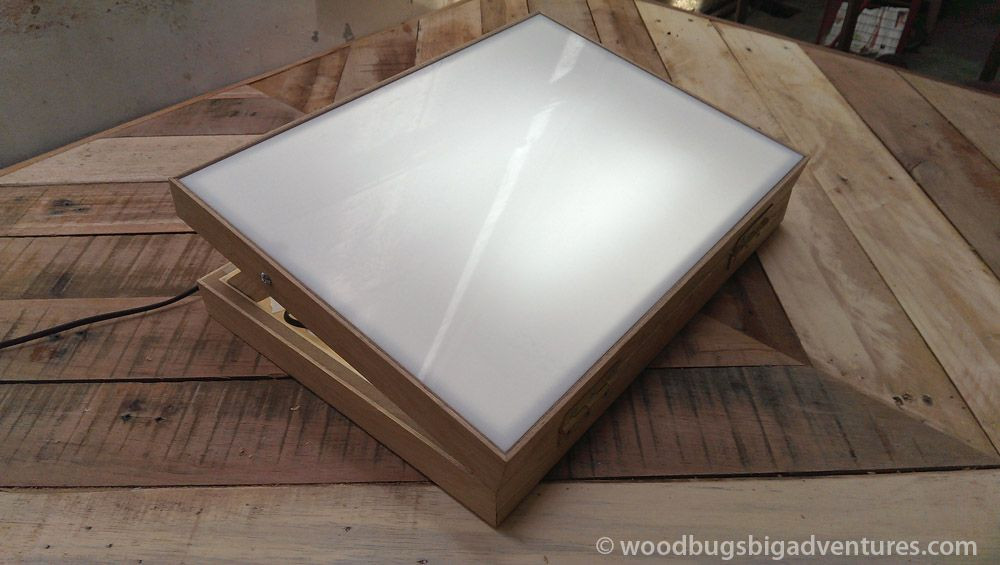 Best ideas about Drawing Light Box DIY . Save or Pin Tracing Light Box Woodbugsbigadventures 29 Now.