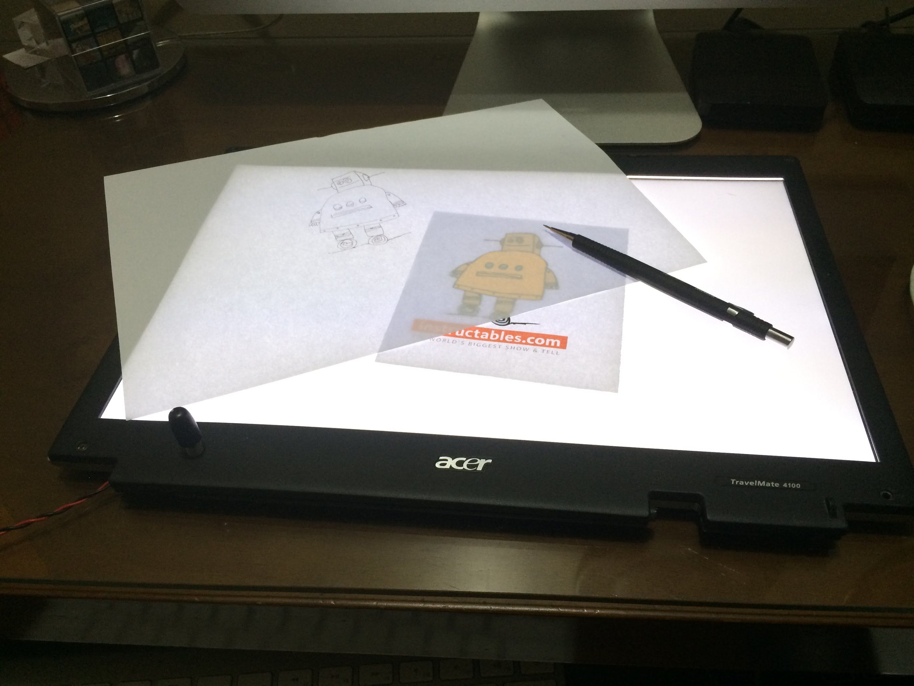 Best ideas about Drawing Light Box DIY . Save or Pin Turn a broken laptop screen into a portable light table Now.