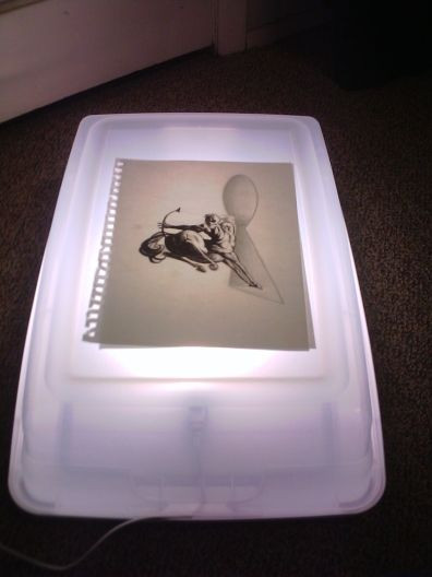 Best ideas about Drawing Light Box DIY . Save or Pin Cheap Light Box for drawing or inking or Now.