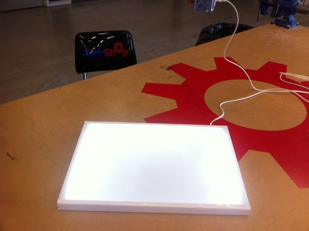 Best ideas about Drawing Light Box DIY . Save or Pin Inexpensive DIY LED Lightbox for Tracing Now.