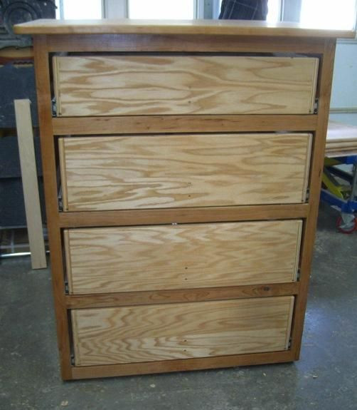 Best ideas about Dresser Plans DIY . Save or Pin Free Dresser Plans How to Build A Chest of Drawers Now.