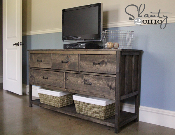 Best ideas about Dresser Plans DIY . Save or Pin Pottery Barn Inspired DIY Dresser Shanty 2 Chic Now.