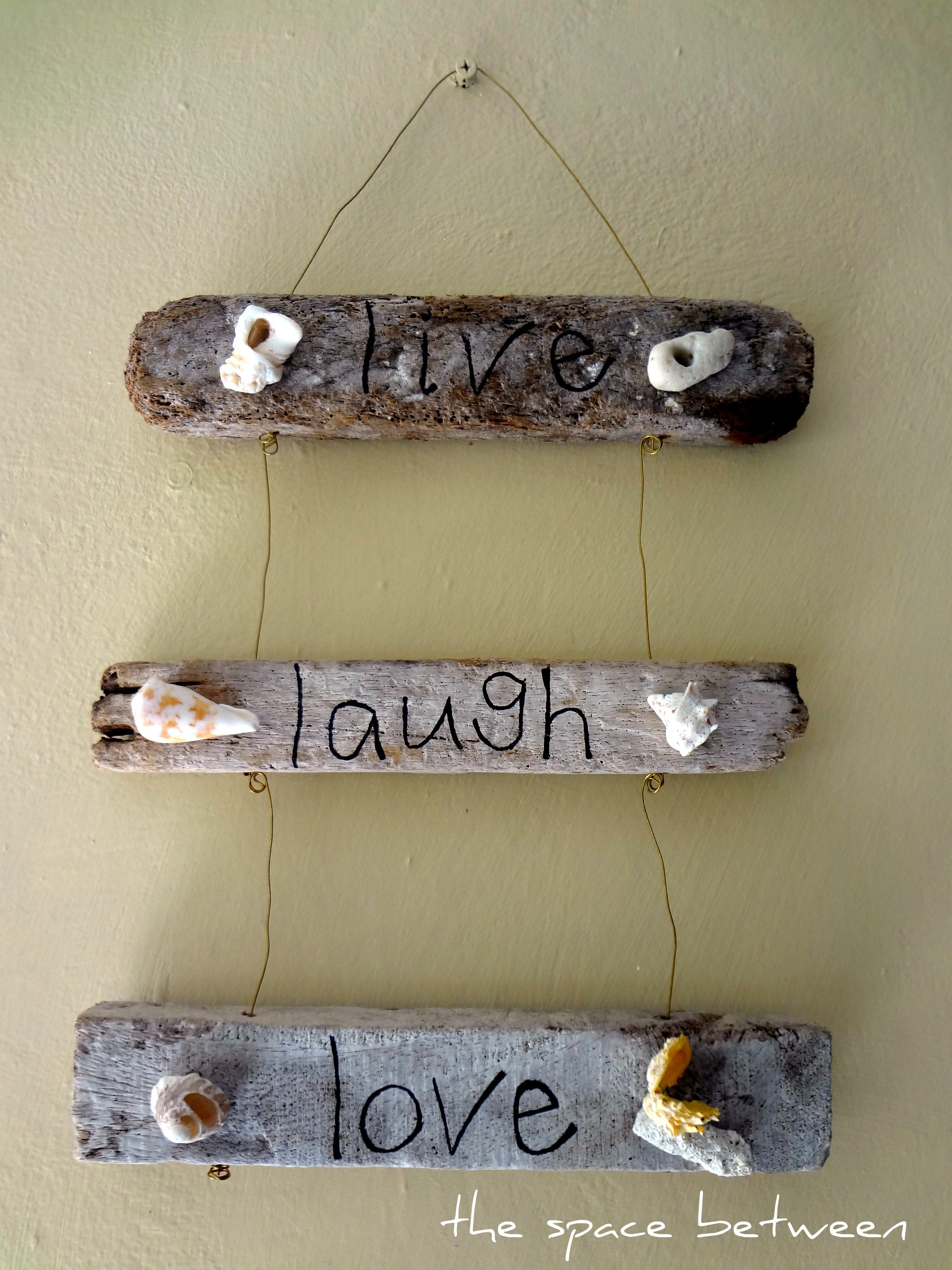 Best ideas about Driftwood Art DIY . Save or Pin 6 diy driftwood crafts Now.