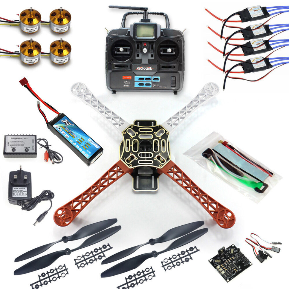 Best ideas about Drone DIY Kits . Save or Pin Full set QuadCopter Drone RTF KK V2 3 Circuit board F450 Now.