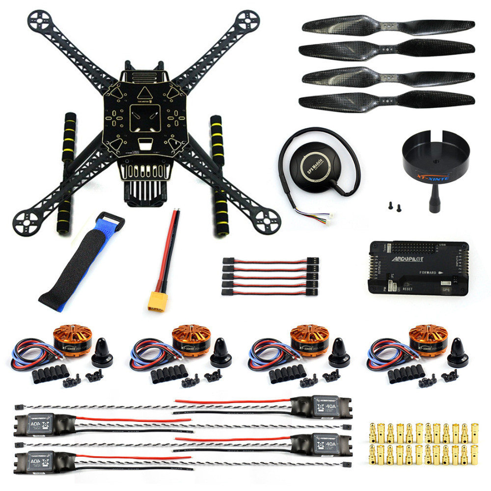 Best ideas about Drone DIY Kits . Save or Pin DIY FPV Drone Kit S600 4 axis Aerial Quadcopter APM 2 8 Now.
