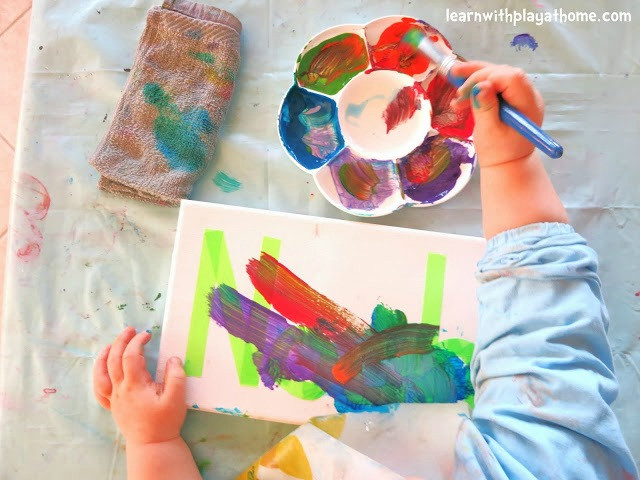 Best ideas about Easy Art For Preschoolers . Save or Pin 45 Awesome Name Activities for Preschoolers How Wee Learn Now.