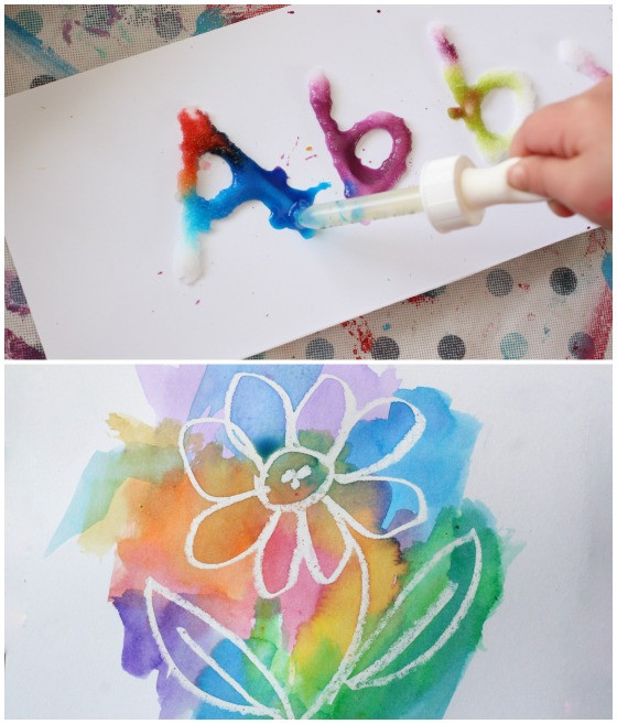 Best ideas about Easy Art For Preschoolers . Save or Pin 25 Awesome Art Projects for Toddlers and Preschoolers Now.