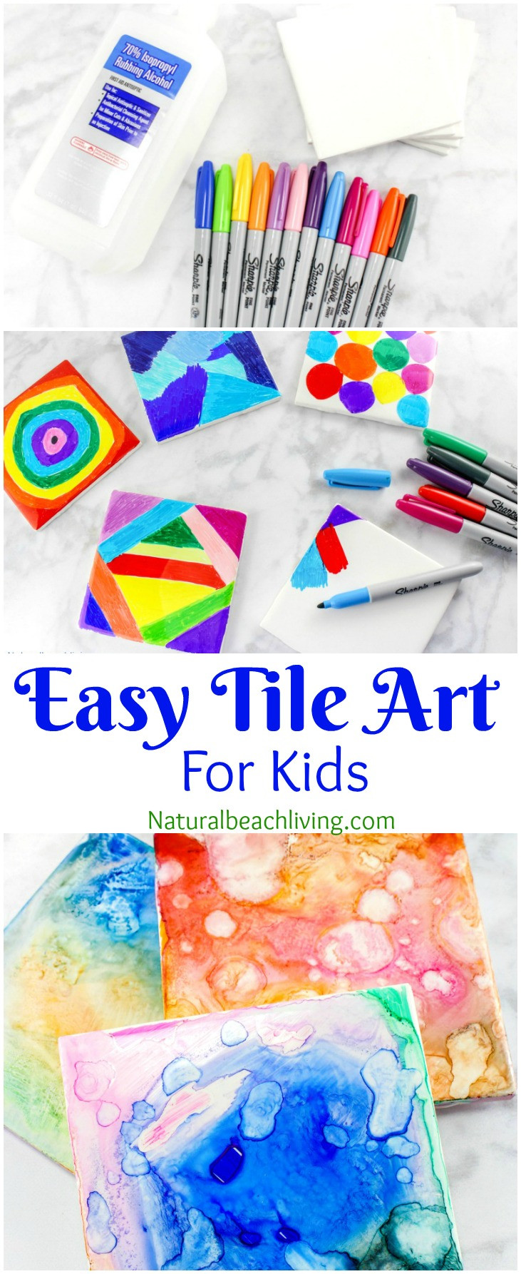 Best ideas about Easy Art Projects For Kids . Save or Pin Easy Tile Art for Kids That Everyone Will Enjoy Best Now.