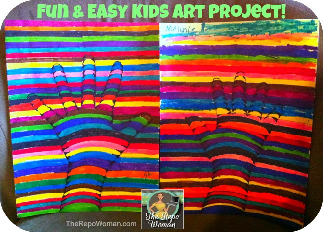 Best ideas about Easy Art Projects For Kids . Save or Pin Teaching Kids Art Fun & Easy Project to do Now.