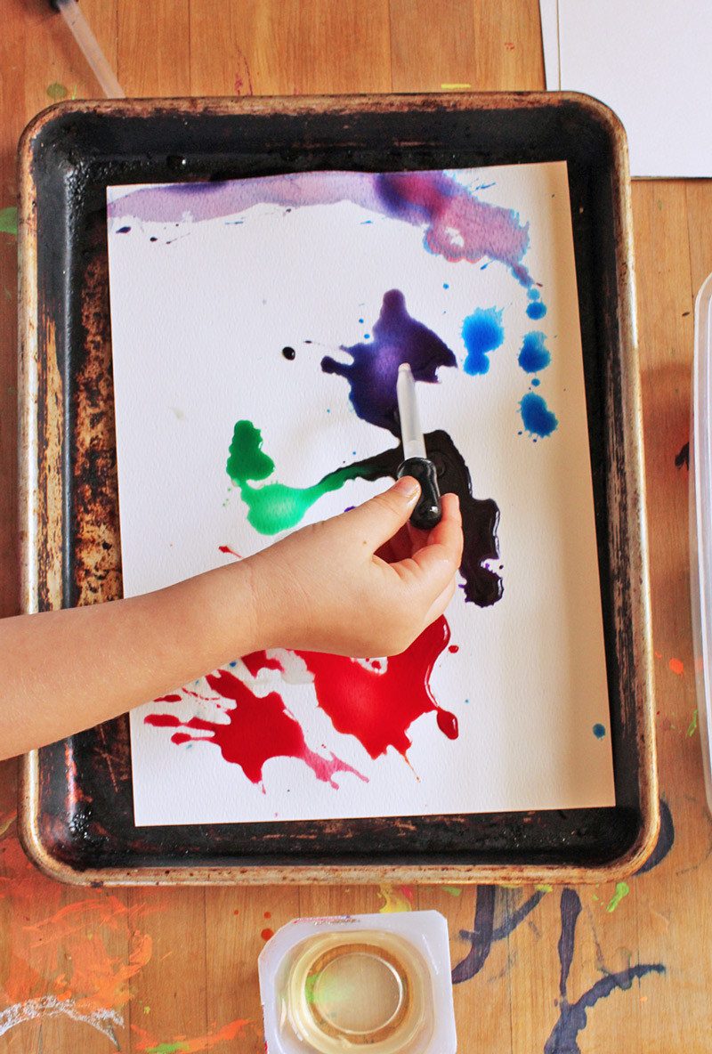 Best ideas about Easy Art Projects For Kids . Save or Pin Easy Art Projects for Kids Watercolors & Oil Now.