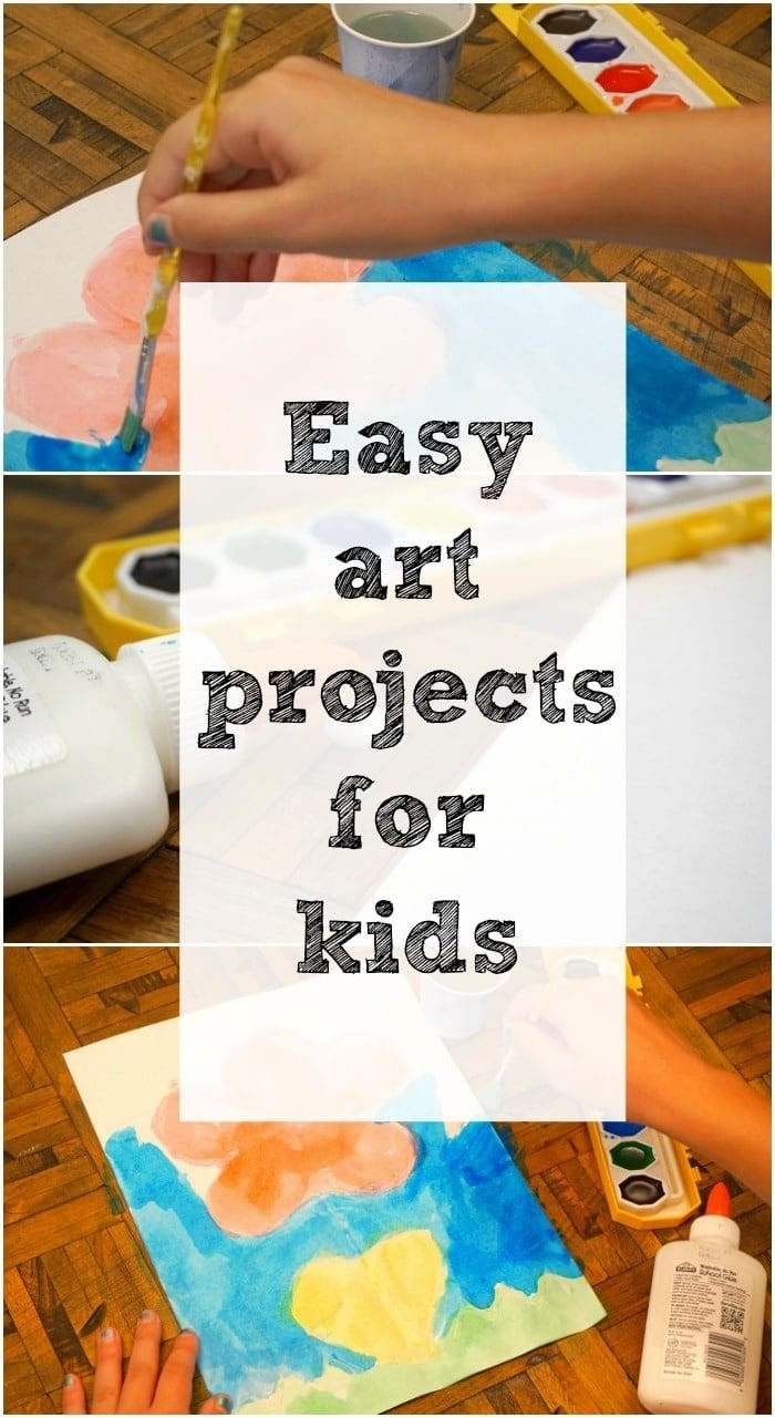 Best ideas about Easy Art Projects For Kids . Save or Pin Art and Craft Ideas for Kids · The Typical Mom Now.
