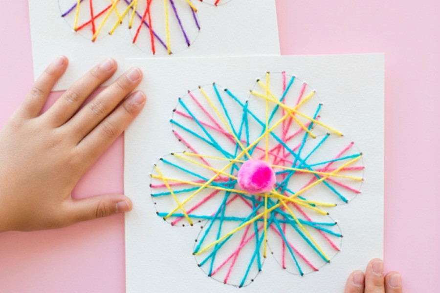 Best ideas about Easy Arts And Crafts For Toddlers . Save or Pin 11 fun and easy flower crafts for kids to make this spring Now.
