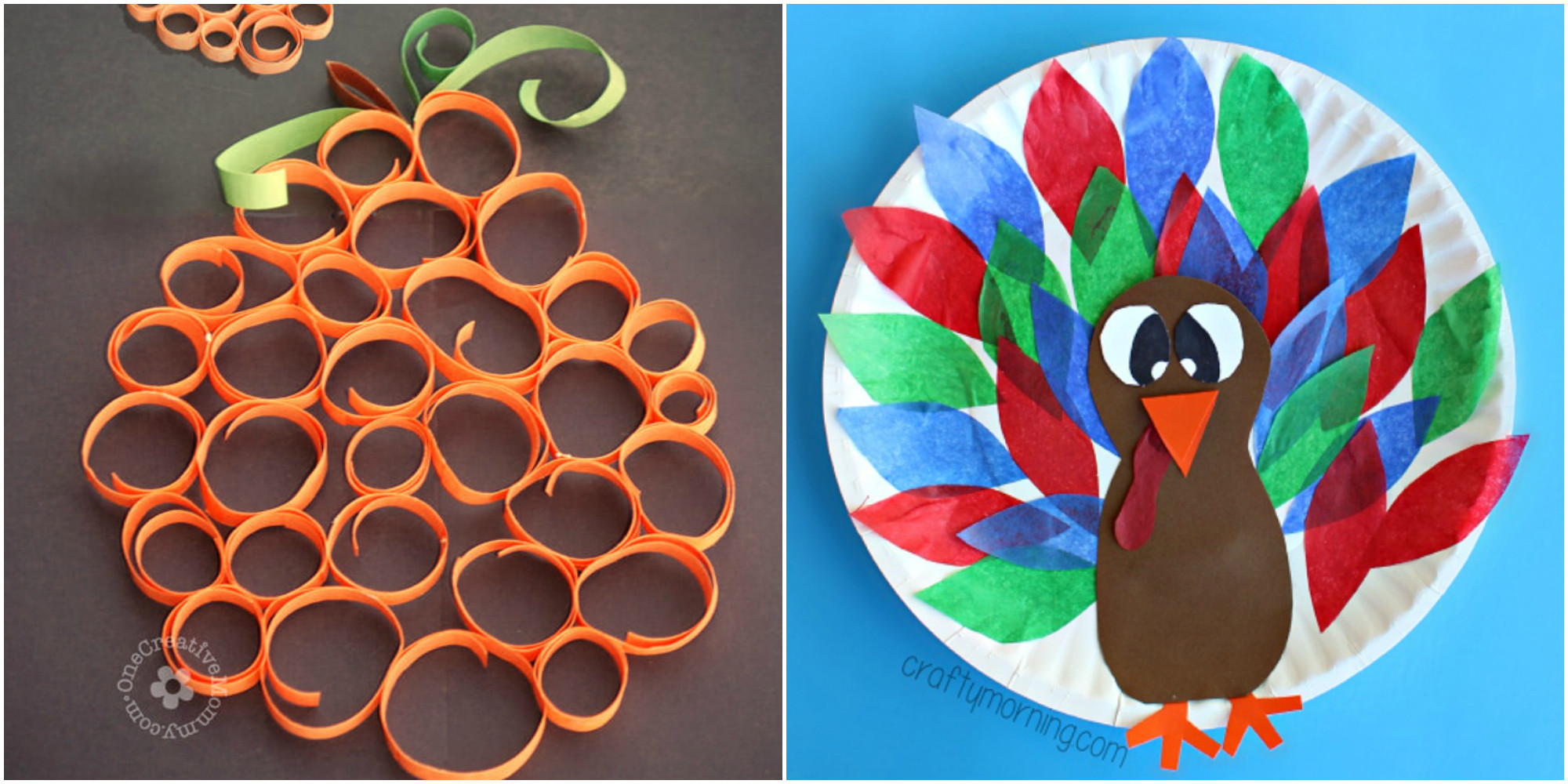Best ideas about Easy Arts And Crafts For Toddlers . Save or Pin 33 Easy Thanksgiving Crafts for Kids Thanksgiving DIY Now.