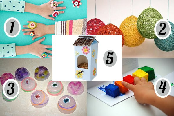 Best ideas about Easy Cheap Crafts For Kids . Save or Pin 10 cheap and easy crafts for kids Now.