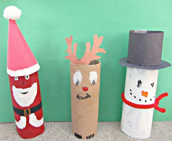 Best ideas about Easy Cheap Crafts For Kids . Save or Pin Toilet Paper Roll Crafts Kids Kubby Now.