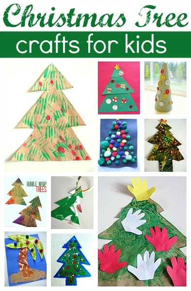 Best ideas about Easy Cheap Crafts For Kids . Save or Pin Easy and cheap Christmas tree crafts for kids Now.