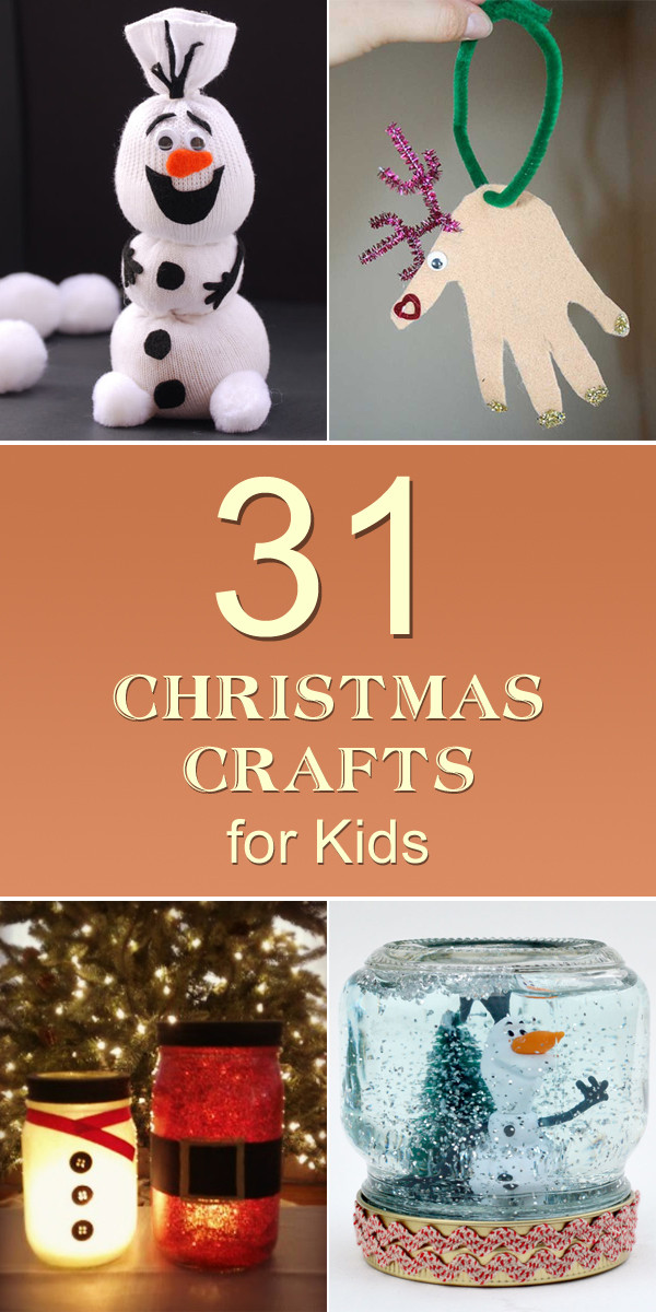 Best ideas about Easy Cheap Crafts For Kids . Save or Pin 31 Easy & Cheap Christmas Crafts for Kids Now.