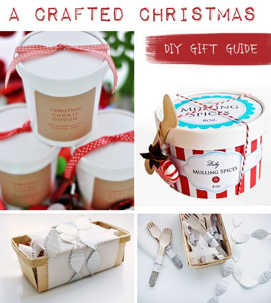 Best ideas about Easy Christmas Craft Gift . Save or Pin Home Design s Crafted Christmas Gift Guide Homemade Now.