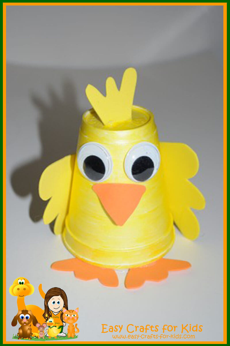 Best ideas about Easy Craft Ideas For Kids . Save or Pin Spring Craft Ideas for Kids Cute and Easy Spring Crafts Now.