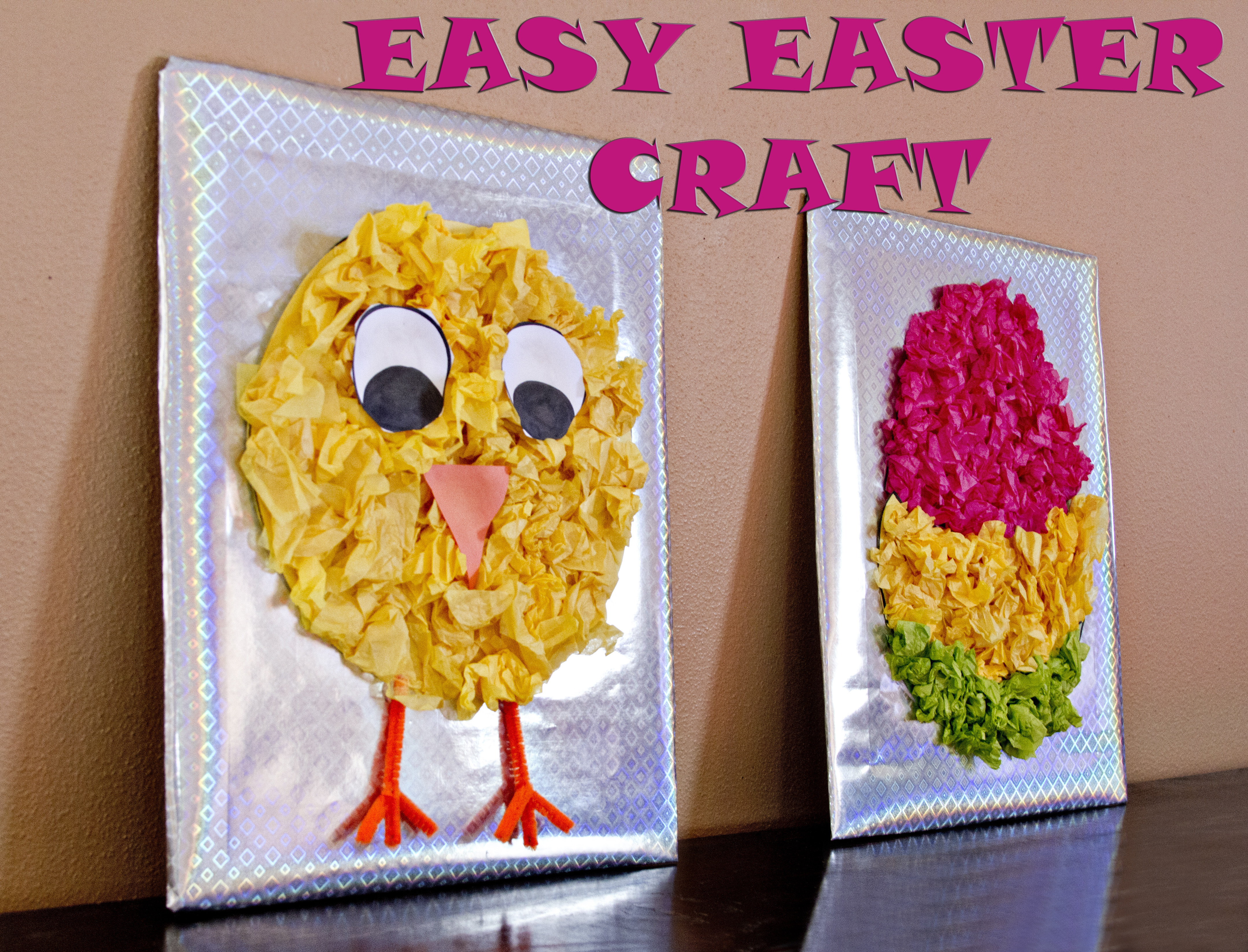 Best ideas about Easy Craft Ideas For Kids To Make At Home . Save or Pin Easter Craft Easy Easter Decorations Now.