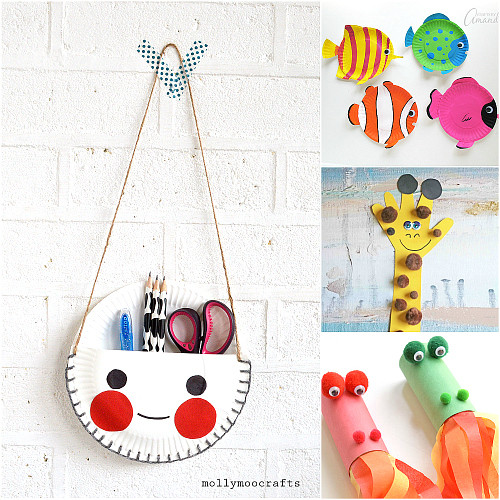 Best ideas about Easy Craft Ideas For Kids To Make At Home . Save or Pin Kid Paper Crafts The 36th AVENUE Now.
