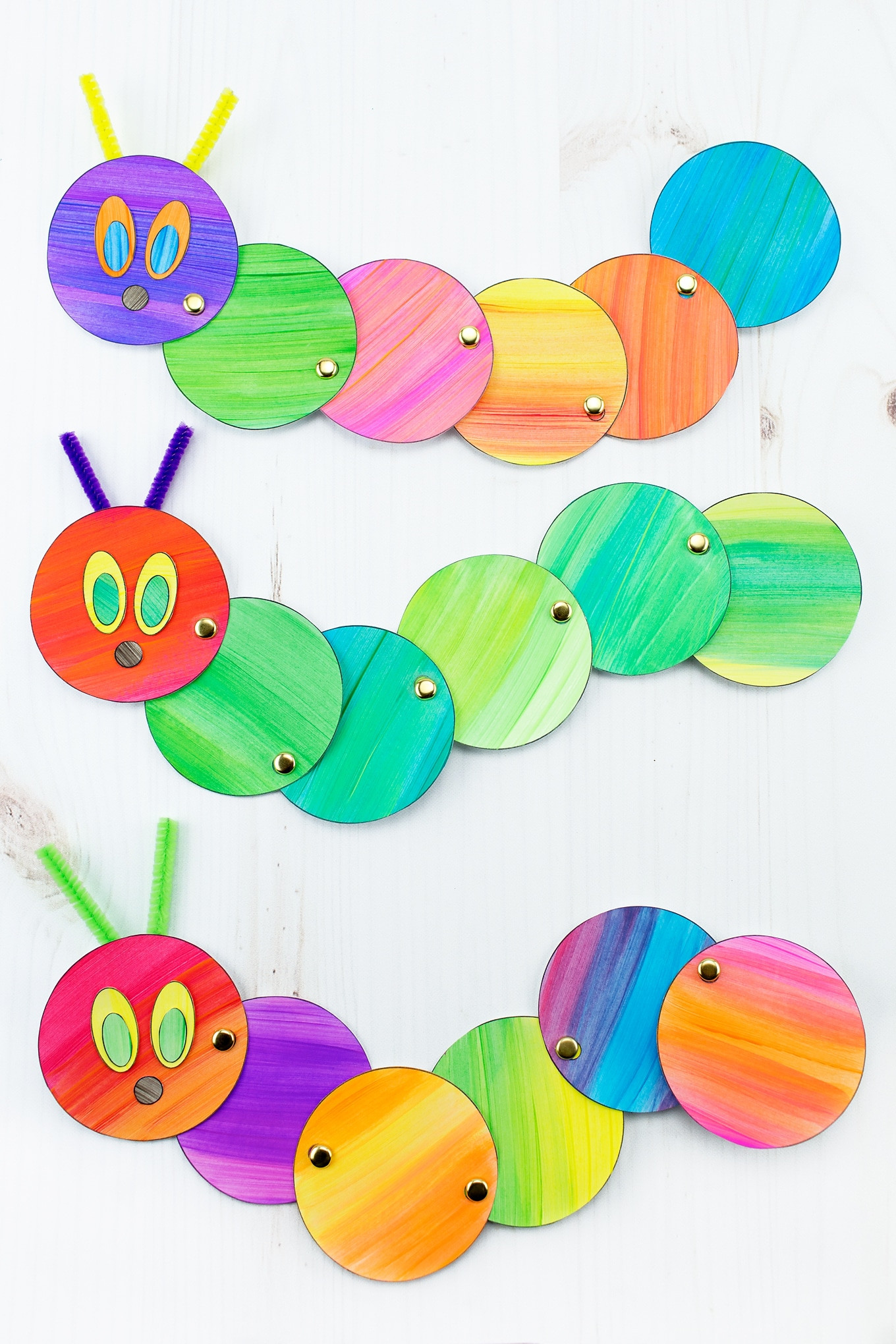 Best ideas about Easy Craft Projects For Kids . Save or Pin How to Make an Easy and Fun Wiggling Caterpillar Craft Now.