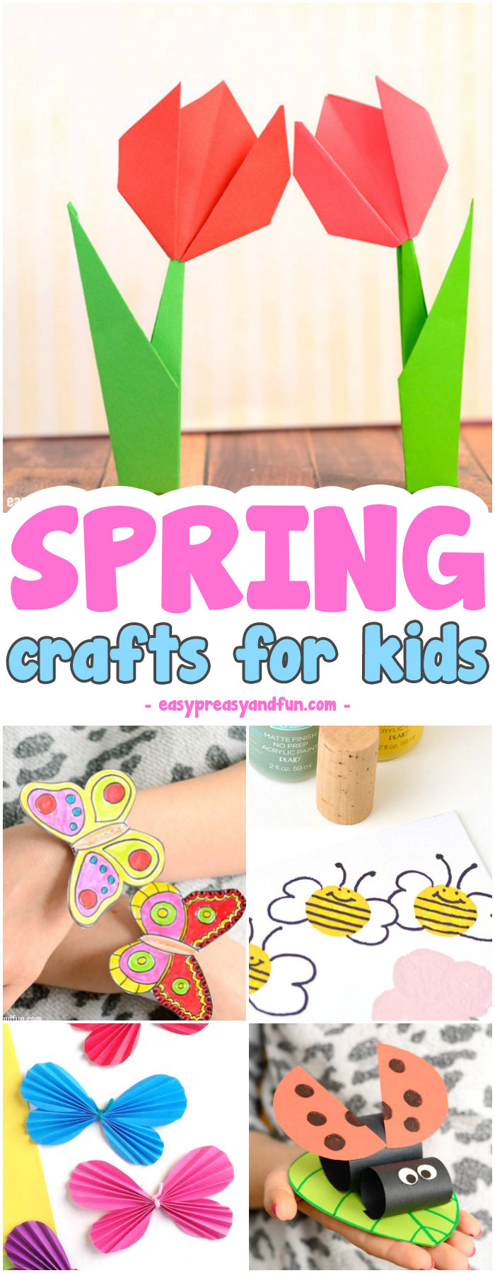 Best ideas about Easy Craft Projects For Kids . Save or Pin Spring Crafts for Kids Art and Craft Project Ideas for Now.