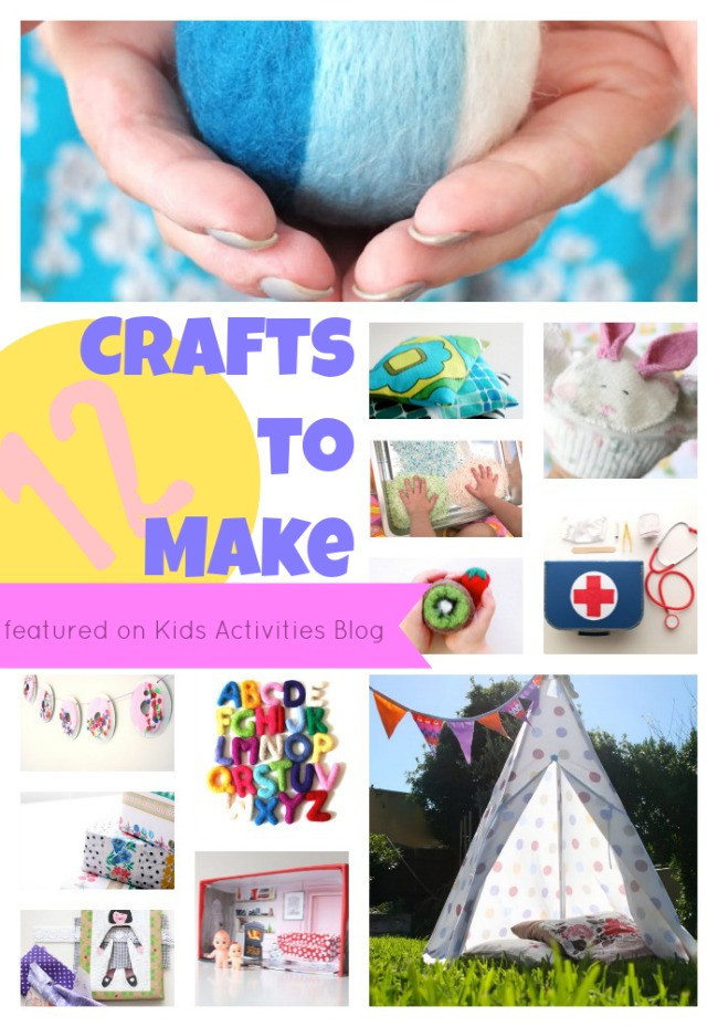 Best ideas about Easy Crafts For Kids To Make At Home . Save or Pin 12 Crafts to Make at Home Now.