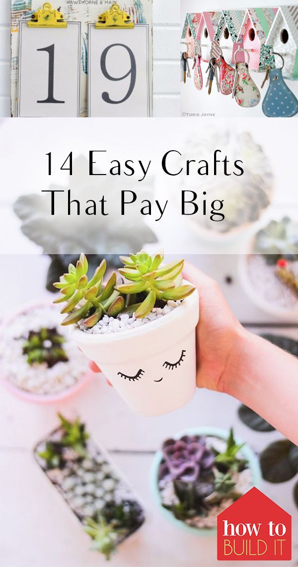 Best ideas about Easy Crafts For Kids To Sell . Save or Pin 14 Easy Crafts That Pay Big Crafts Now.