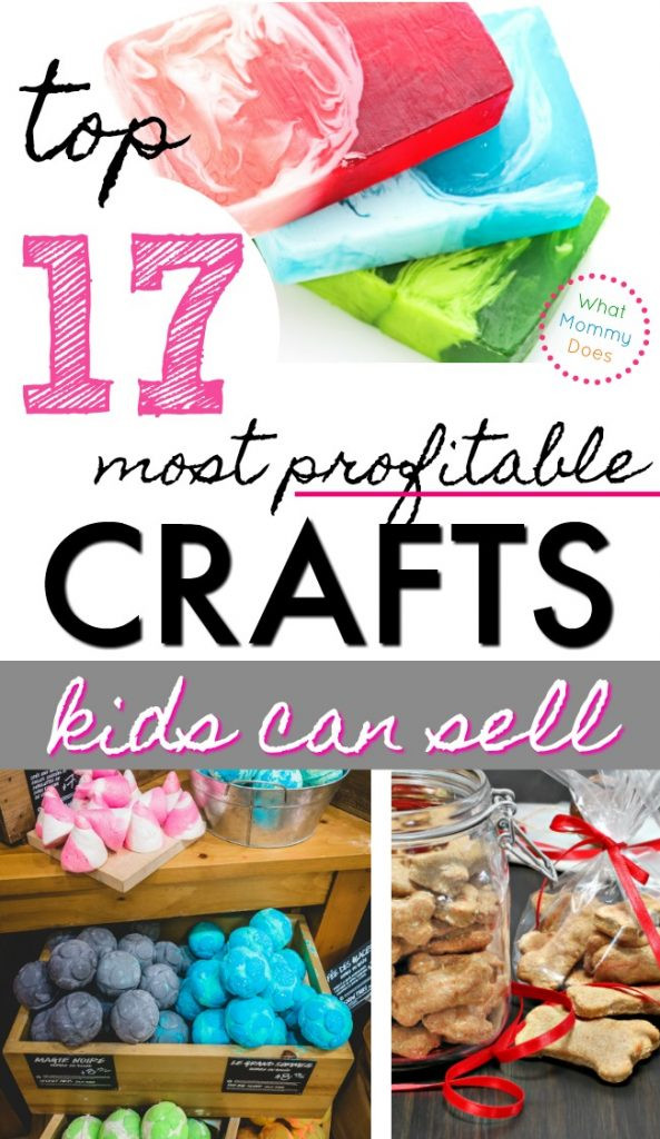 Best ideas about Easy Crafts For Kids To Sell . Save or Pin 17 Best Things for Kids to Make and Sell What Mommy Does Now.