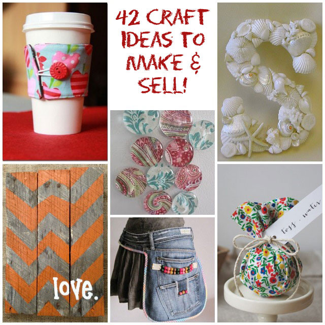 Best ideas about Easy Crafts For Kids To Sell . Save or Pin 42 Craft Ideas That are Easy to Make and Sell Now.