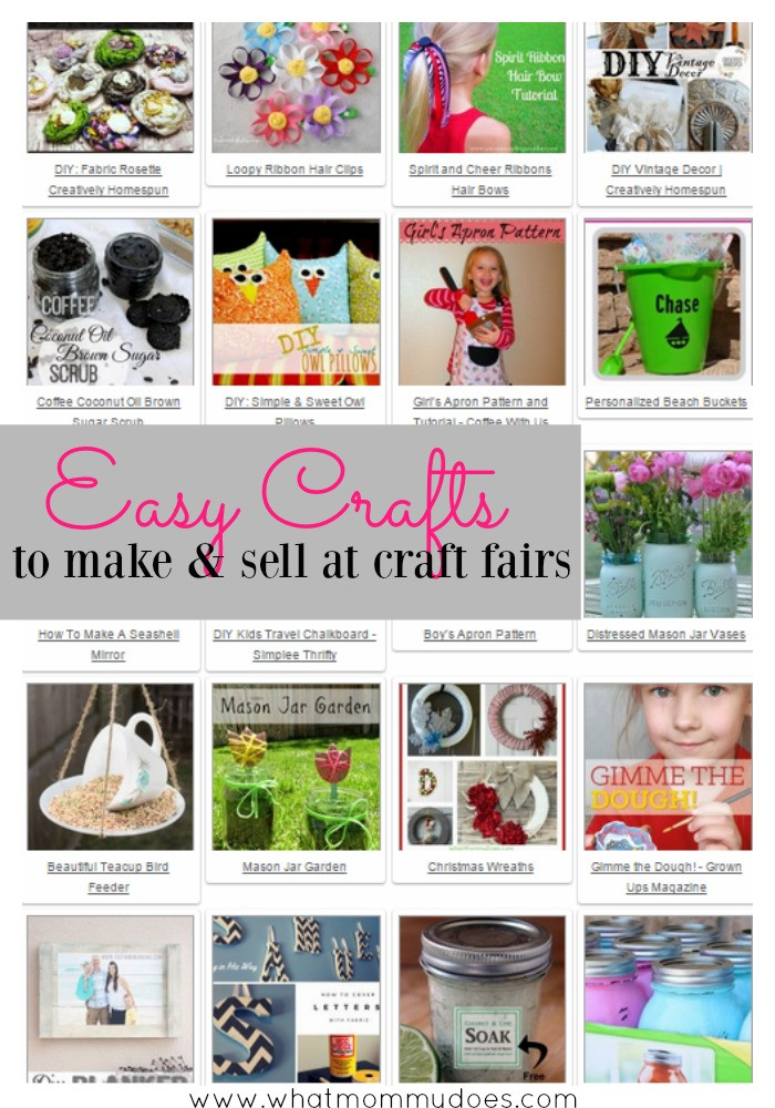 Best ideas about Easy Crafts For Kids To Sell . Save or Pin 50 Crafts You Can Make and Sell What Mommy Does Now.