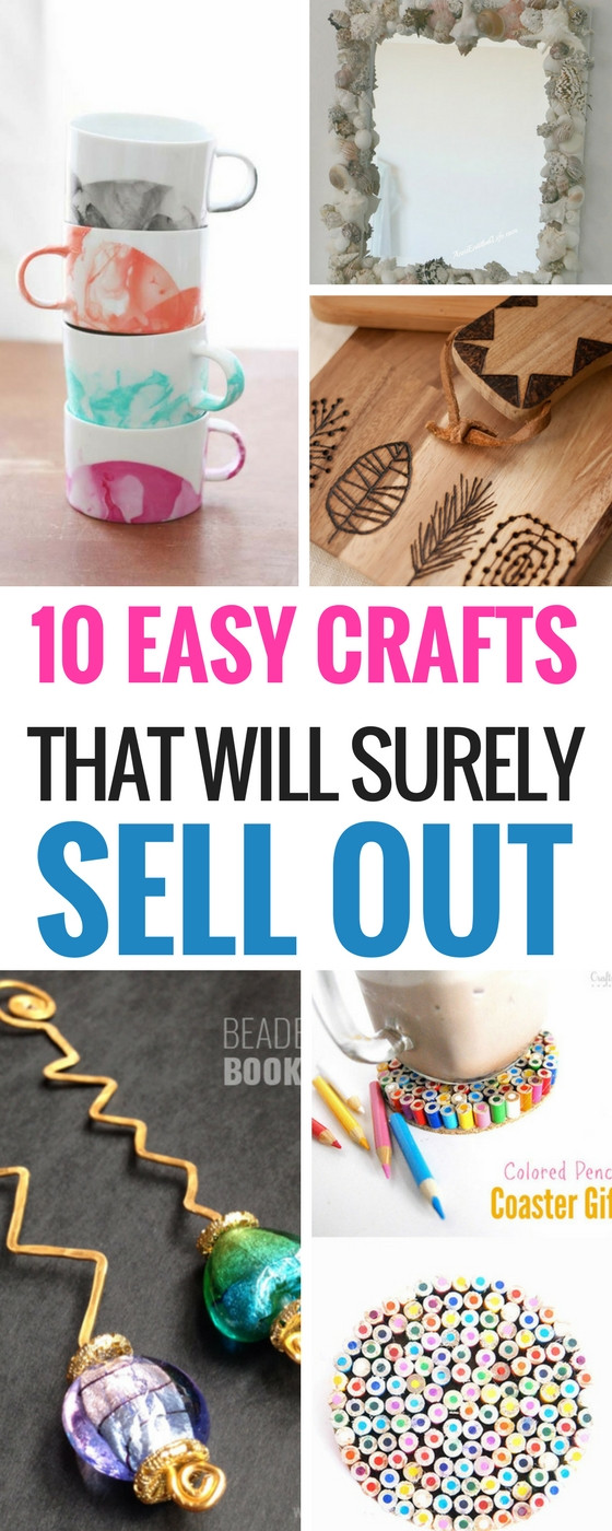 Best ideas about Easy Crafts For Kids To Sell . Save or Pin 10 Easy DIY Crafts That Will Totally Sell Craftsonfire Now.