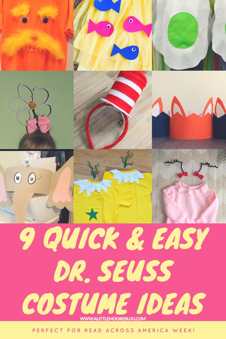 Best ideas about Easy DIY Dr Seuss Costumes . Save or Pin Nine Quick and Easy Dr Seuss Costumes for Kids A Little Now.