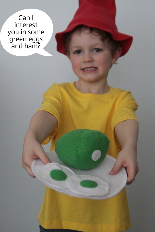 Best ideas about Easy DIY Dr Seuss Costumes . Save or Pin green eggs & ham costume Dr Seuss day It s Always Autumn Now.