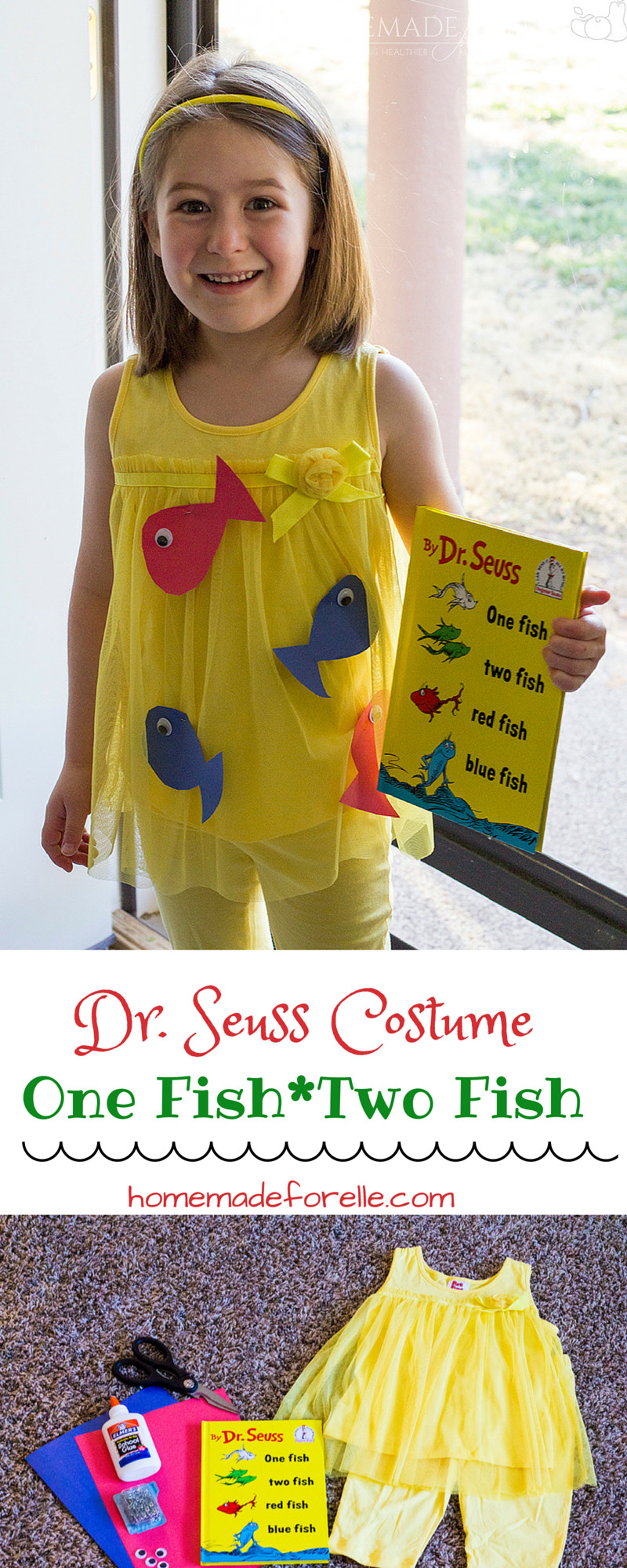 Best ideas about Easy DIY Dr Seuss Costumes . Save or Pin DIY Dr Seuss Costume Recipe kiddos Now.