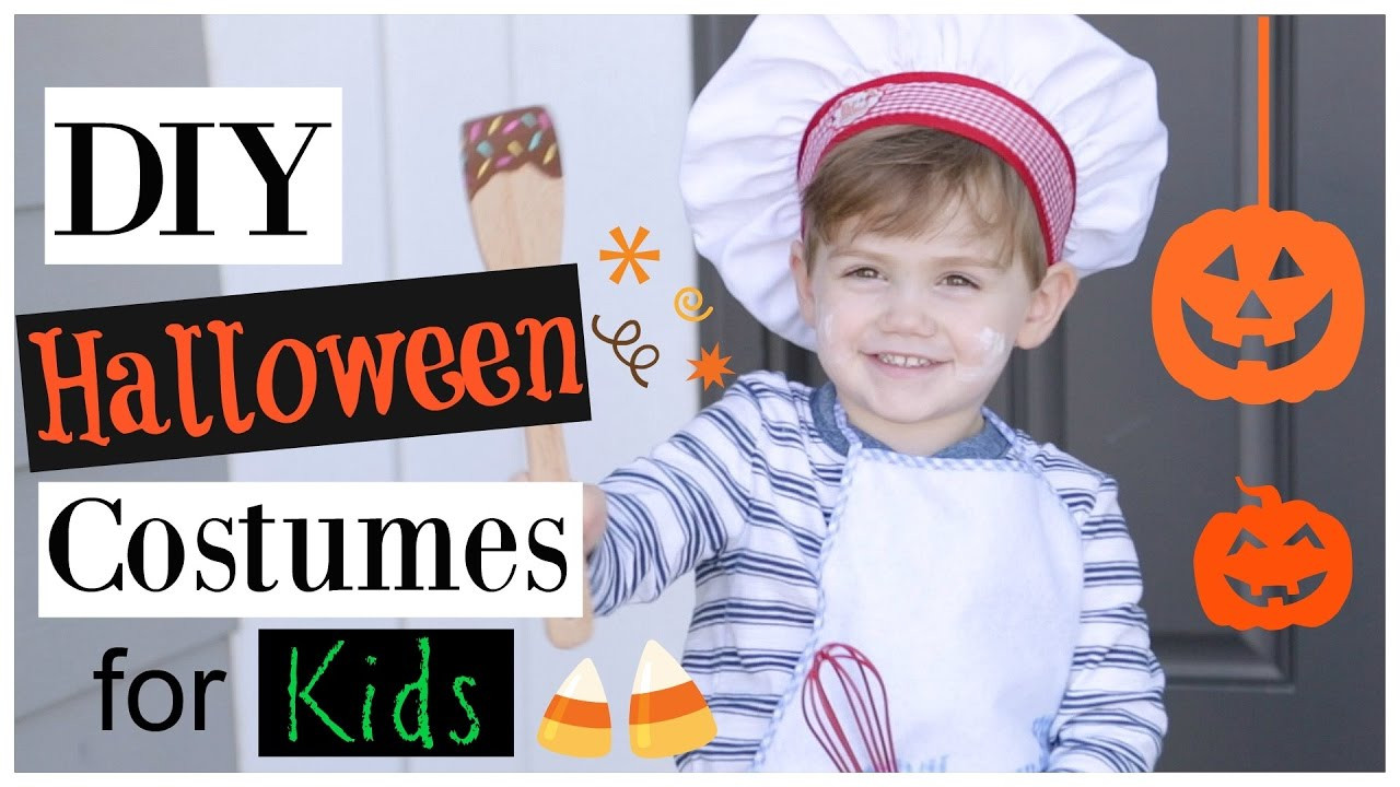 Best ideas about Easy DIY Halloween Costumes For Kids . Save or Pin DIY Halloween Costumes for Kids Easy Cheap Last Minute Now.
