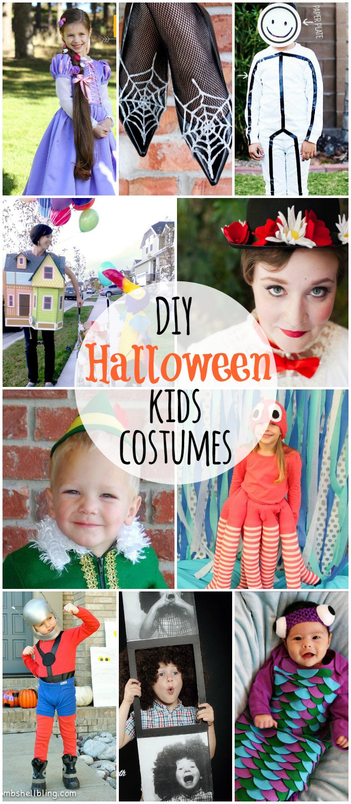 Best ideas about Easy DIY Halloween Costumes For Kids . Save or Pin DIY Halloween Kids Costumes Now.
