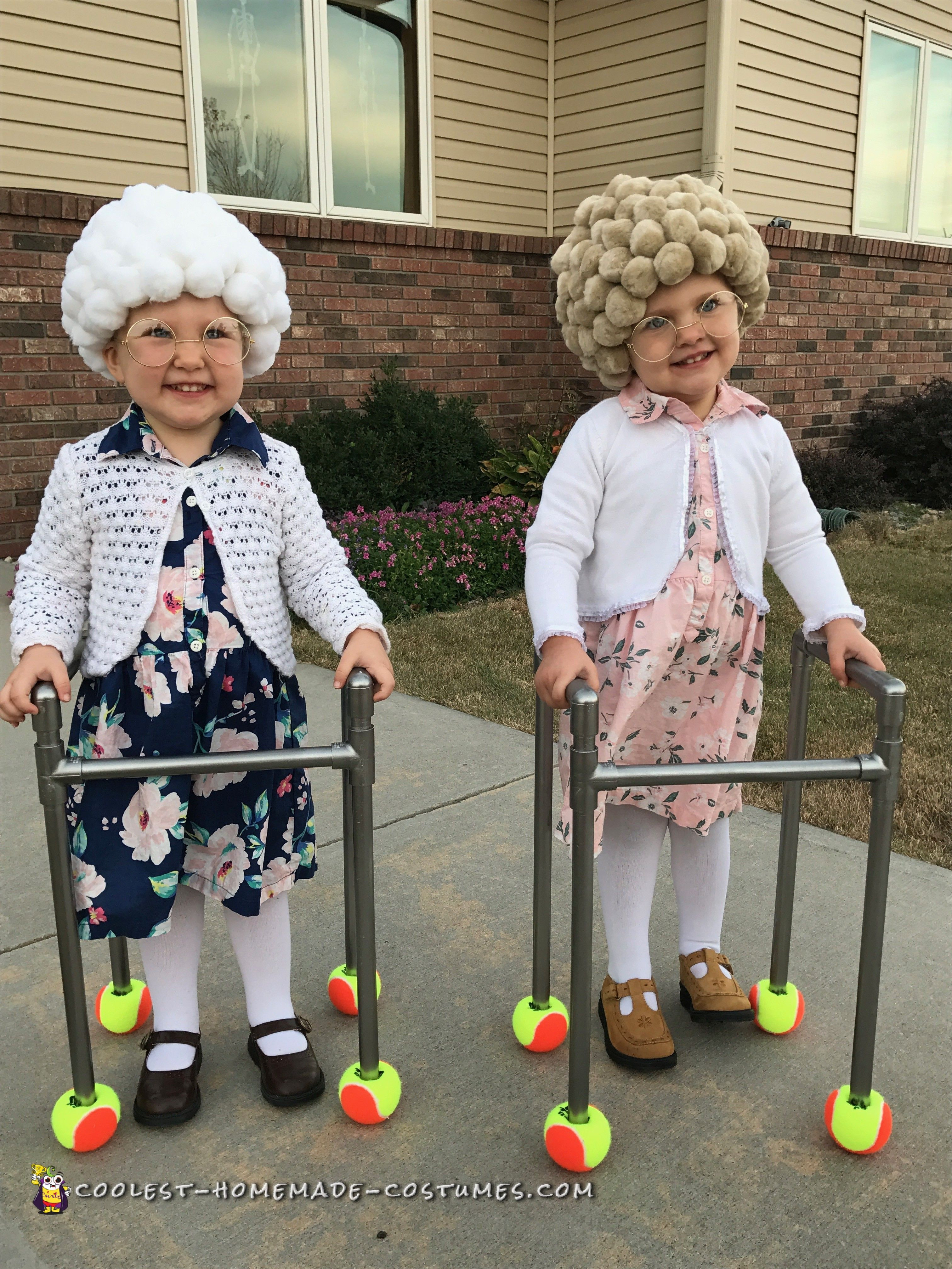 Best ideas about Easy DIY Kids Costumes . Save or Pin Easy DIY Adorable Twin Old La s in 2019 Now.